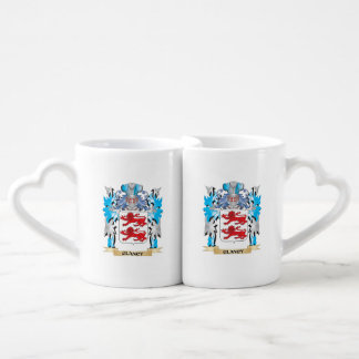 Clancy Coat of Arms - Family Crest Couples' Coffee Mug Set
