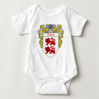 Clancy Coat of Arms (Mantled) Baby Bodysuit