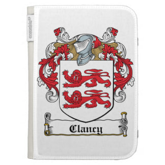 Clancy Family Crest Cases For The Kindle