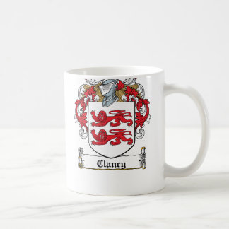 Clancy Family Crest Coffee Mug