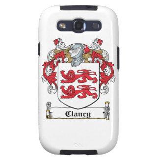 Clancy Family Crest Samsung Galaxy S3 Case