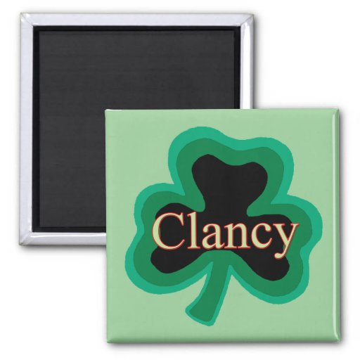 Clancy Family Refrigerator Magnets