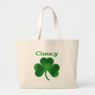 Clancy Shamrock Large Tote Bag