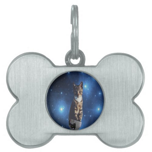 Clancy the Space Cat Pet ID Tag