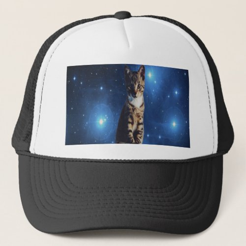 Clancy the Space Cat Trucker Hat