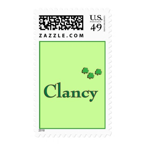 Clancy US Postage Stamps