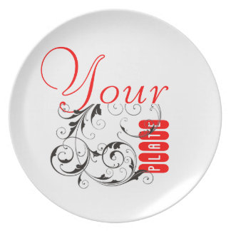 Clandestine Chefs' Official Personalized Melamine Plate