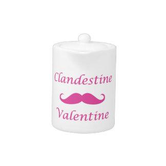 Clandestine Valentine 02P Teapot