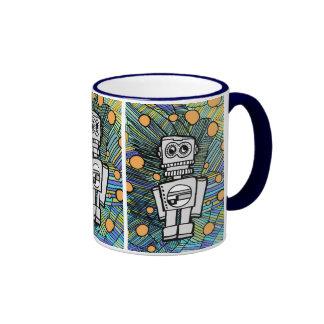 CLANKY M-12 ROBOT RINGER COFFEE MUG