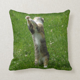 Clap you hands and stamp your feet throw pillow