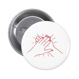 Clap Your Hands 2 Inch Round Button