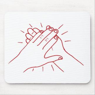 Clap Your Hands Mouse Pad