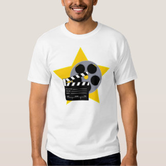 Clapboard and Reel Tees