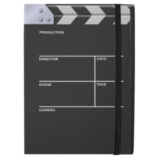 "Clapboard cinema for action iPad pro 12.9"" case"