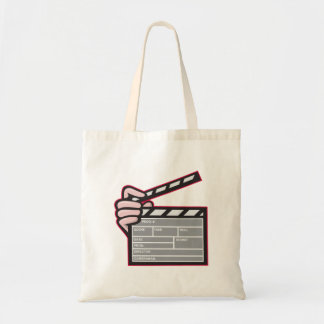 Clapboard Clapperboard Clapper Front Tote Bags