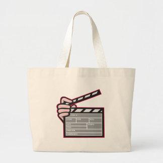 Clapboard Clapperboard Clapper Front Canvas Bag