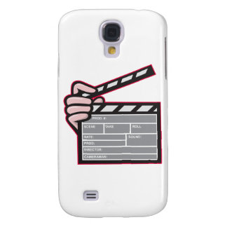 Clapboard Clapperboard Clapper Front Galaxy S4 Cases