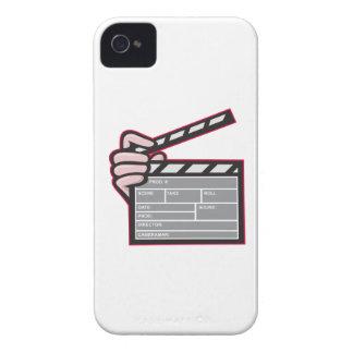 Clapboard Clapperboard Clapper Front iPhone 4 Case-Mate Case