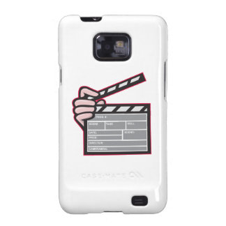 Clapboard Clapperboard Clapper Front Galaxy SII Case
