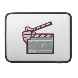 Clapboard Clapperboard Clapper Front Sleeves For MacBook Pro
