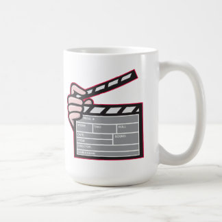 Clapboard Clapperboard Clapper Front Coffee Mug