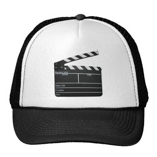 Clapboard Film Movie Slate Mesh Hats
