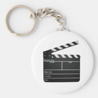 Clapboard Film Movie Slate  Keychain