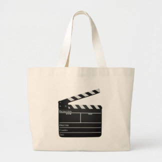 Clapboard Film Movie Slate Large Tote Bag