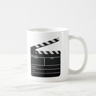 Clapboard Film Movie Slate Classic White Coffee Mug