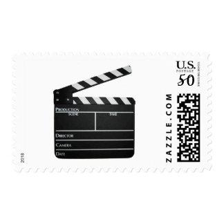 Clapboard Film Movie Slate Postage