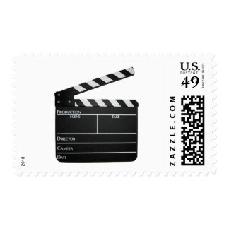Clapboard Film Movie Slate Stamps