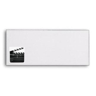 Clapboard filmmaker Movie envelope
