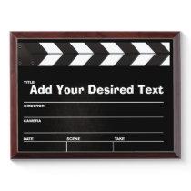 Clapboard Movie Award Plaque