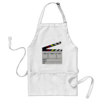 Clapboard movie filmmaker slate adult apron