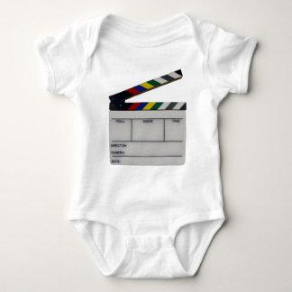 Clapboard movie filmmaker slate baby bodysuit