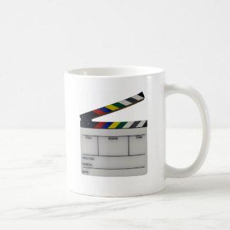 Clapboard movie filmmaker slate coffee mug