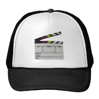 Clapboard movie filmmaker slate trucker hat