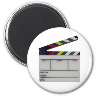 Clapboard movie filmmaker slate magnet