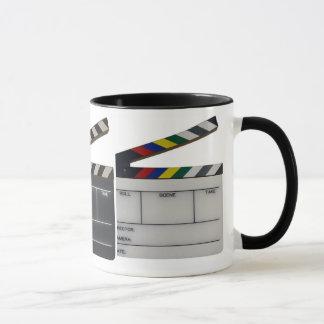 Clapboard movie filmmaker slate mug