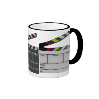 Clapboard movie filmmaker slate ringer coffee mug
