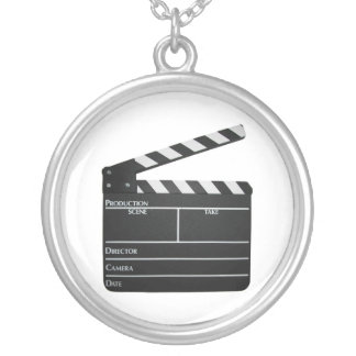 Clapboard movie filmmaker slate Necklace