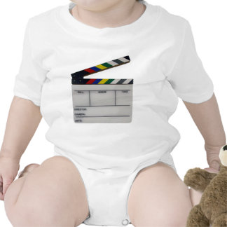 Clapboard movie filmmaker slate tees