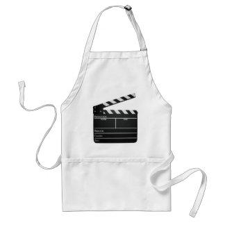 Clapboard movie slate clapper film adult apron