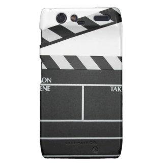 Clapboard movie slate clapper film motorola droid RAZR cover