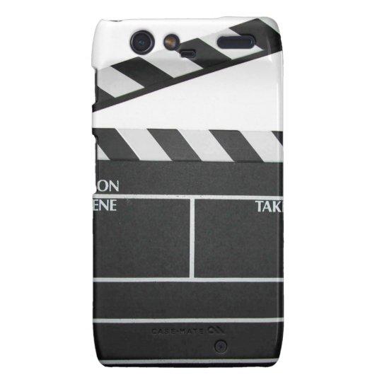 Clapboard movie slate clapper film droid RAZR cover