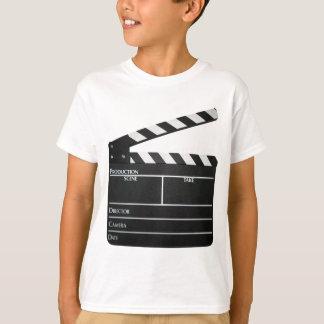 Clapboard movie slate clapper film T-Shirt
