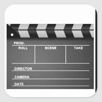 Clapboard Stickers