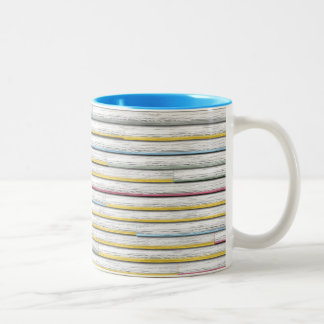 Clapboard Two-Tone Coffee Mug