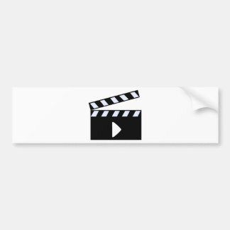 Clapper Board Bumper Sticker