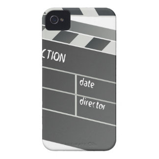 Clapper-Board Film Movie Motion Picture iPhone 4 Cover